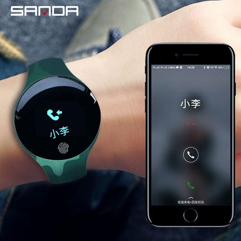 SANDA Smart Watch for IOS Android Men Women Waterproof Sport Intelligent Watches Pedometer Calories Reminder Fitness Bracelet