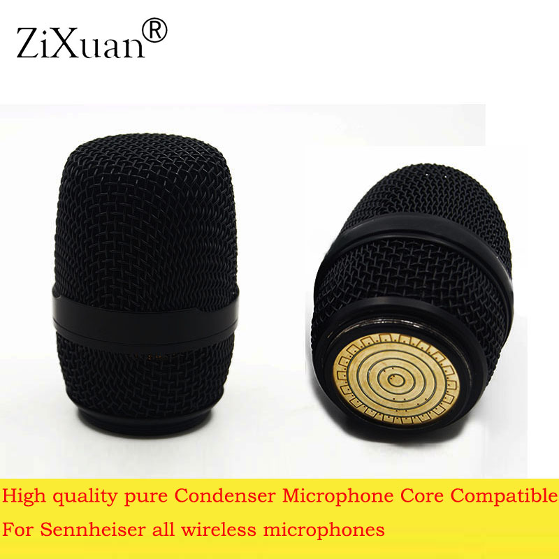 Micros sans fil de haute qualité pur condensateur Microphone Core Capsule E835 Compatible pour Sennheiser tout microphone sans fil