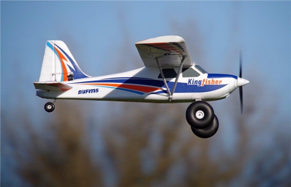 FMS 1400mm Martin-Pêcheur Formateur Débutant L'eau Mer Neige Avion 3 s 5CH Avec Volets Flotteurs Skis PNP RC Avion modèle Avion Aircraft