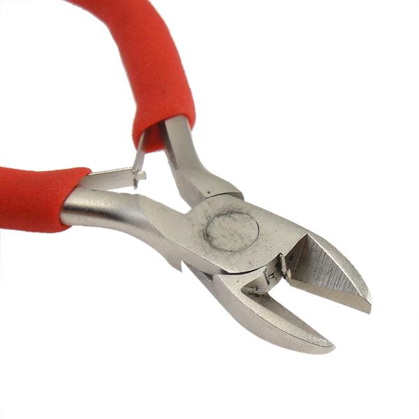 yyw оптовая продажа прочный диагональ сбоку резка щипцы для наращивания волос красный ювелирных изделий ручные инструменты бисер кабель провода сбоку кусачки щипцы для наращивания волос