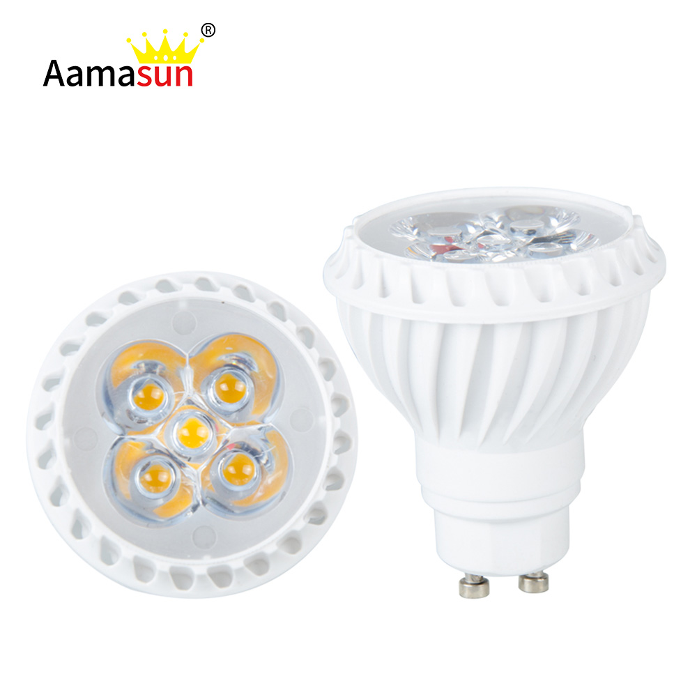 Friendly Gu10 220v Led Bulb Light Ac 230v 5w Dimmable 5 Leds Spotlight Fireproof Shell Replace Halogen Cfl Lamp Ampoule Home Lighting Led Bulbs & Tubes