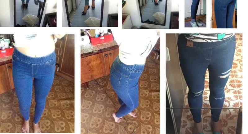 BIVIGAOS Basic Skinny Womens Jeans Ankle Pencil Pants Slim Elastic Denim Pants Jean Leggings Female Cotton Jeggings Jeans Women 3