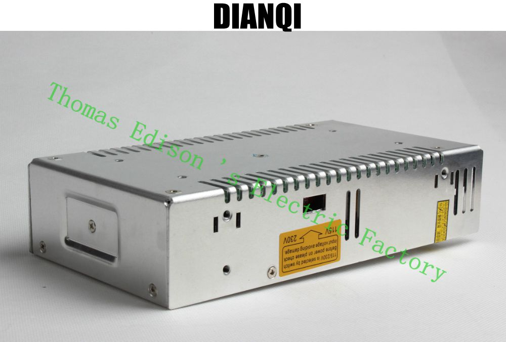 High Quality Power Supply 48V 360W AC to DC Power Supply AC DC Converter S-360-48 led power supply 48v 201w ac to dc switching power supply ac dc converter high quality s 201 48v free shipping