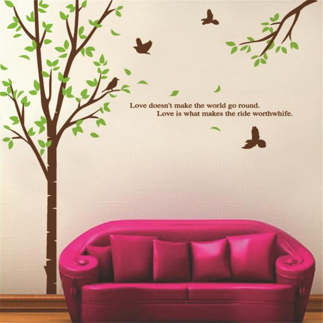 The Meaning Of Love Vinyl Wall Stickers For Kids Rooms Children Home