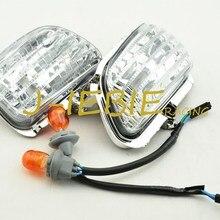 Прозрачная передняя Поворотная сигнальная лампа оболочка объектива для Honda Goldwing GL1800 2001