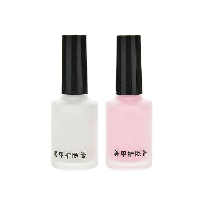 15ml White L Off Liquid Nail Art Palisade Cream Cuticle Latex Tape Finger Skin Protected Glue