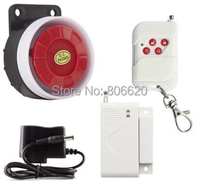 315/433 Mhz Inalámbrico Sirena Independientes Integrados con Max 32 Unids de Sensor de Alarma Inalámbrico con fuerte alarma para la Seguridad Casera