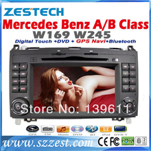 ZESTECH Free Shipping Car DVD for BENZ Mercedes A W169 B W245 Vito Viano Sprinter GPS Navigation RDS Radio Bluetooth IPOD Canbus