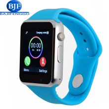 fashion cute smart watch T22 clock and SIM card slot push message Bluetooth connection Android phone smart watch