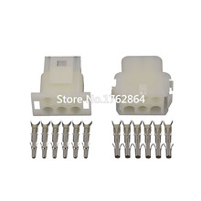 5 Sets 6 pin connector for elevator KET with terminal DJ3061-2.1-11 / 21