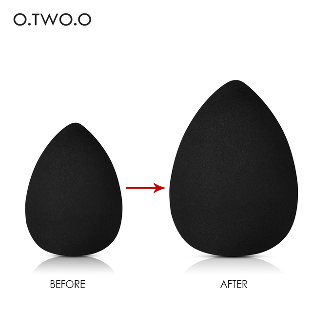 O.TWO.O Makeup Sponge Foundation Cosmetic Puff Sponge Water Cosmetic Blending Powder Smooth Make Up Sponge 1