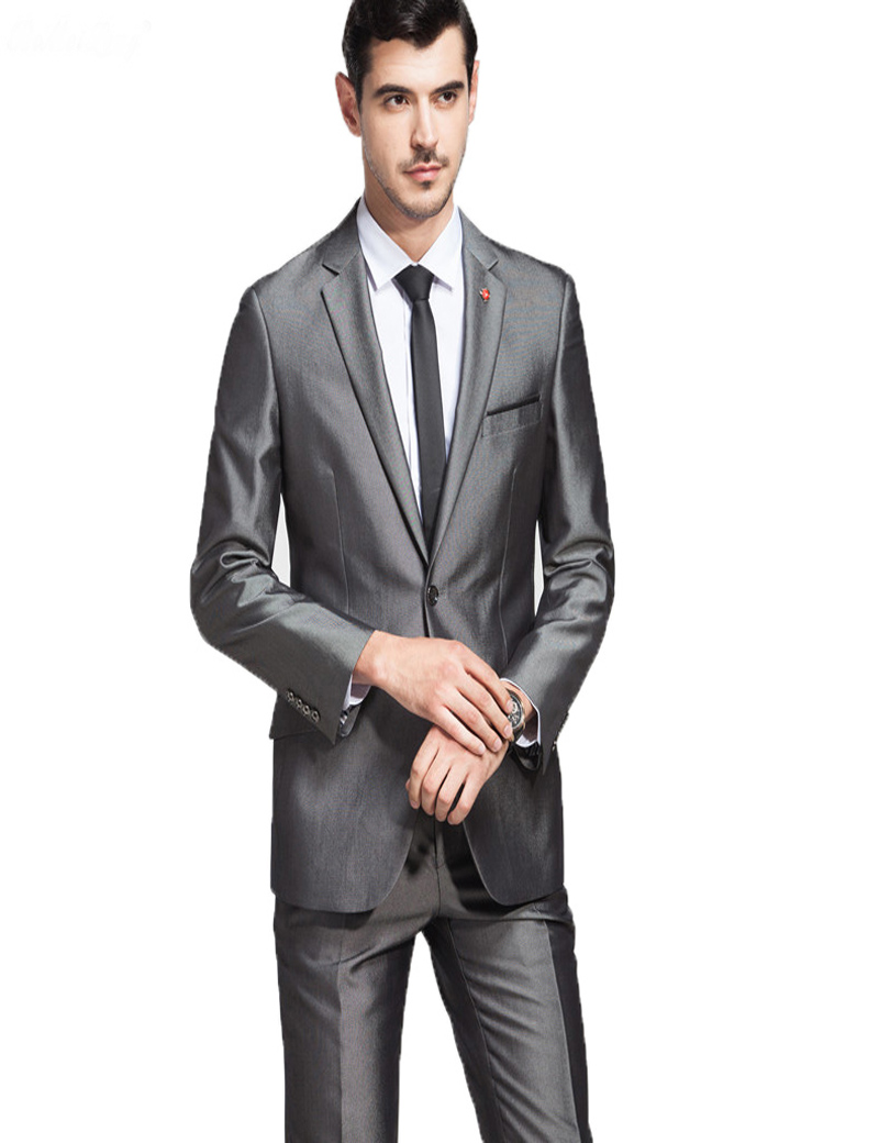 Mariage Same Pantalon Party Made De Custom Avec Costume Nouveau Blazer As  Un Gris Homme veste Hommes Costumes Pantalon Marié Picture Veste Business  ... 0a600a6e272