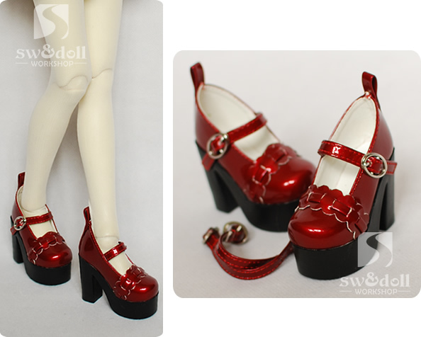 1/3 1/4 Scale BJD High-heeled shoes for dolls.shoes for BJD/SD.A15A1249.only sell doll shoes.not included the doll and clothes only a promise