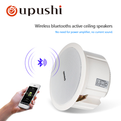 Casa alto falantes de teto bluetooth 6.5 polegada na parede alto-falante alto-falante telhado branco oupushi pa sistema 20w áudio em casa orador móvel