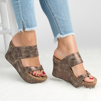Women Sandals Plus Size 35-43 Wedges Shoes For Woman Platform Sandals Casual Wedge Heels Sandalias Mujer 2019 High Heels Women