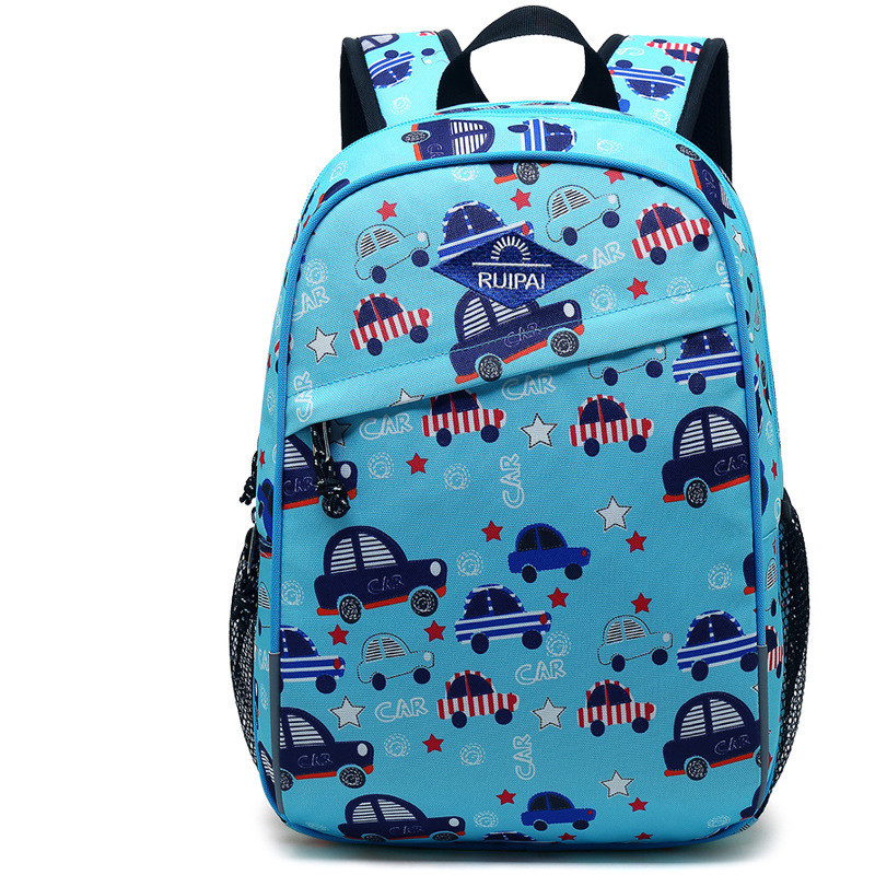 Cartoon Printing Children School Bags Orthopedic Backpack Lightweight Kids Satchel Boy Knapsack For Grade 1-3 Mochila Escolar