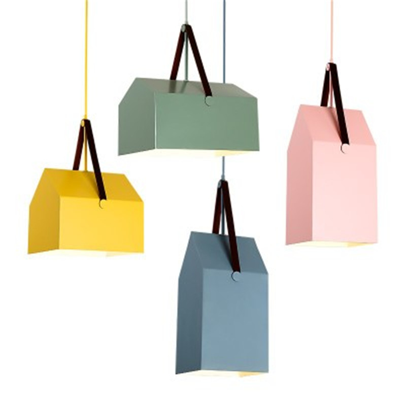 Loft Style Creative House Iron Droplight Lamp Modern LED Pendant Light Fixtures For Dining Room Hanging Lamp Indoor Lighting edison inustrial loft vintage amber glass basin pendant lights lamp for cafe bar hall bedroom club dining room droplight decor