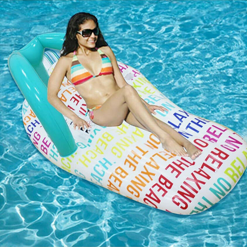 Inflatable Water Hammock Floating Bed Slippers Lounge Chair for Swimming Pool Beach Lounge Chair for Swimming Pool Beach UYT