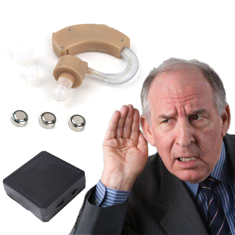 1pc Adjustable Hearing Aids For The Elderly/Hearing Loss Sound Amplifier Behind The Ear Care Tool Digital Tone Cheap Hearing Aid