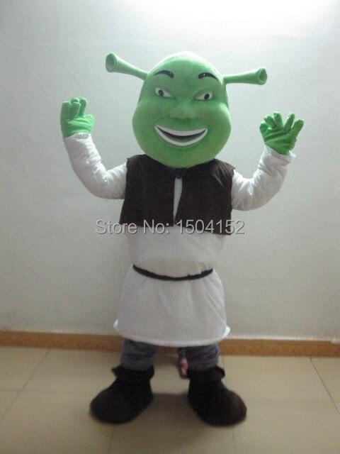 shrek mascot head costume school mascots cartoon character costumes