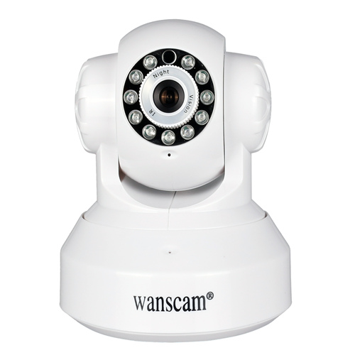 720P HD Wireless IP Camera IR Night Vision P2P Network Camera Dual Audio Security Surveillance Camera For Home 720p hd wifi camera night vision p2p ip camera 1 0mp waterproof ir cuts surveillance camere for home security