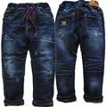 3991 очень очень теплые зимние мальчики джинсы брюки джинсовые и флиса двухэтажных брюки дети детская одежда мальчик мода