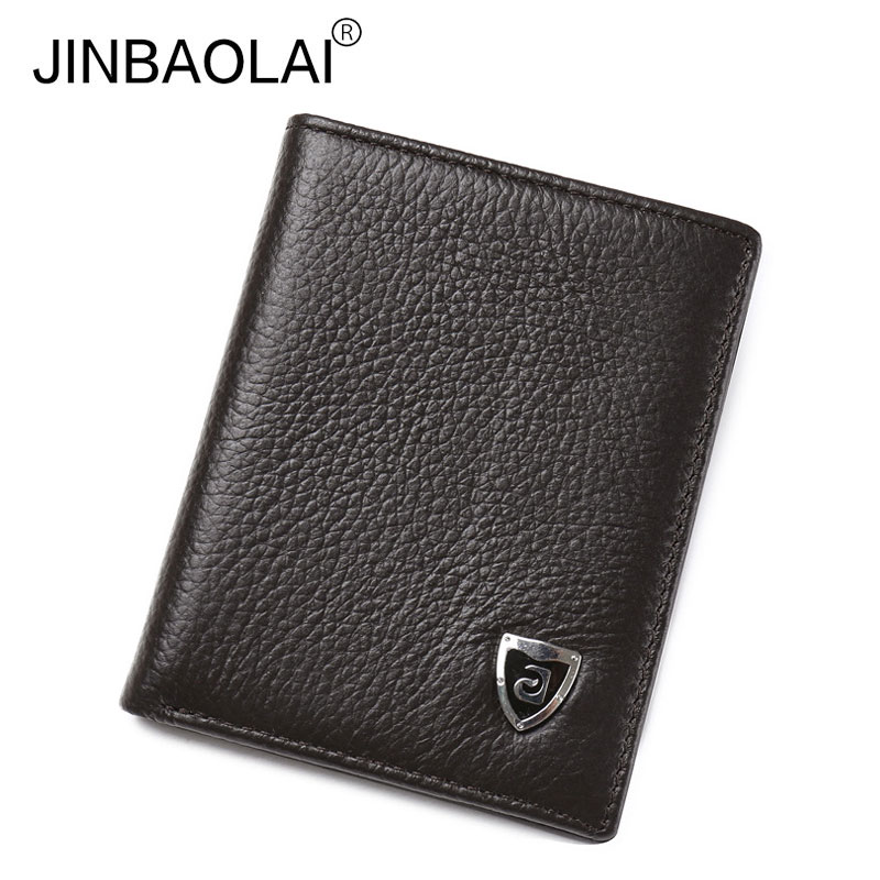 2017 Mini Genuine Leather Wallets Famous Brand Purse Male Thin Card Holder Wallet Coin Purses Carteira Feminina for Men Gift