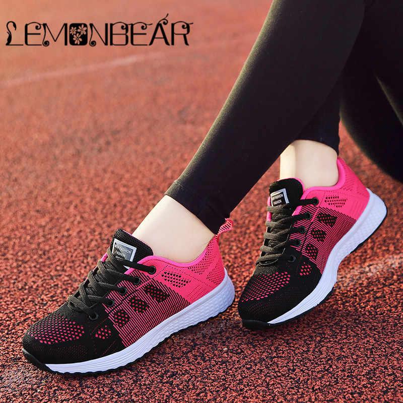 Summer Sneakers Women Casual Shoes Zapatos de mujer zapatillas Female  Platform Shoes Women Ladies White Trainers ead678e0411a