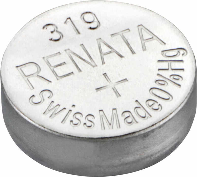 2ピース/ロット小売真新しいレナータ長続き319 sr527sw SR527 v319時計電池ボタンコイン電池スイスメイド100%オリジナル