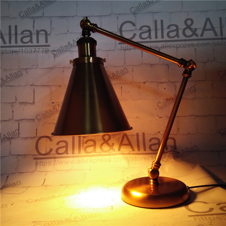 Free shipping antique vintage movie desk lamp bronze iron base study lights old fashioned lighting hotel decoration beside lamp old antique bronze doctor who theme quartz pendant pocket watch with chain necklace free shipping