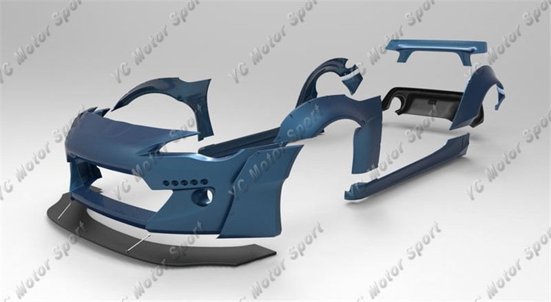 GT86 FT86 ZN6 FRS BRZ ZC6 Greddy X Rocket Bunny Ver.2 Style Body Kit FRP (18)
