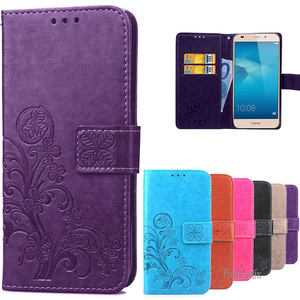 Роскошный чехол-портмоне в ретро-стиле из кожи с откидной крышкой чехол для huawei Honor 5C/Honor 7 Lite бумажник чехол-сумочка для телефона с держатель ...