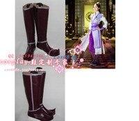 Drama TV Play Gujianqitan Tale Of Antique Sword Feng Qingxue Female Cosplay Shoes S008