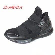 ShowMyHot/Мужская дышащая парусиновая обувь; chaussure homme; zapatillas deportivas; Летняя обувь; tenis masculino; кроссовки