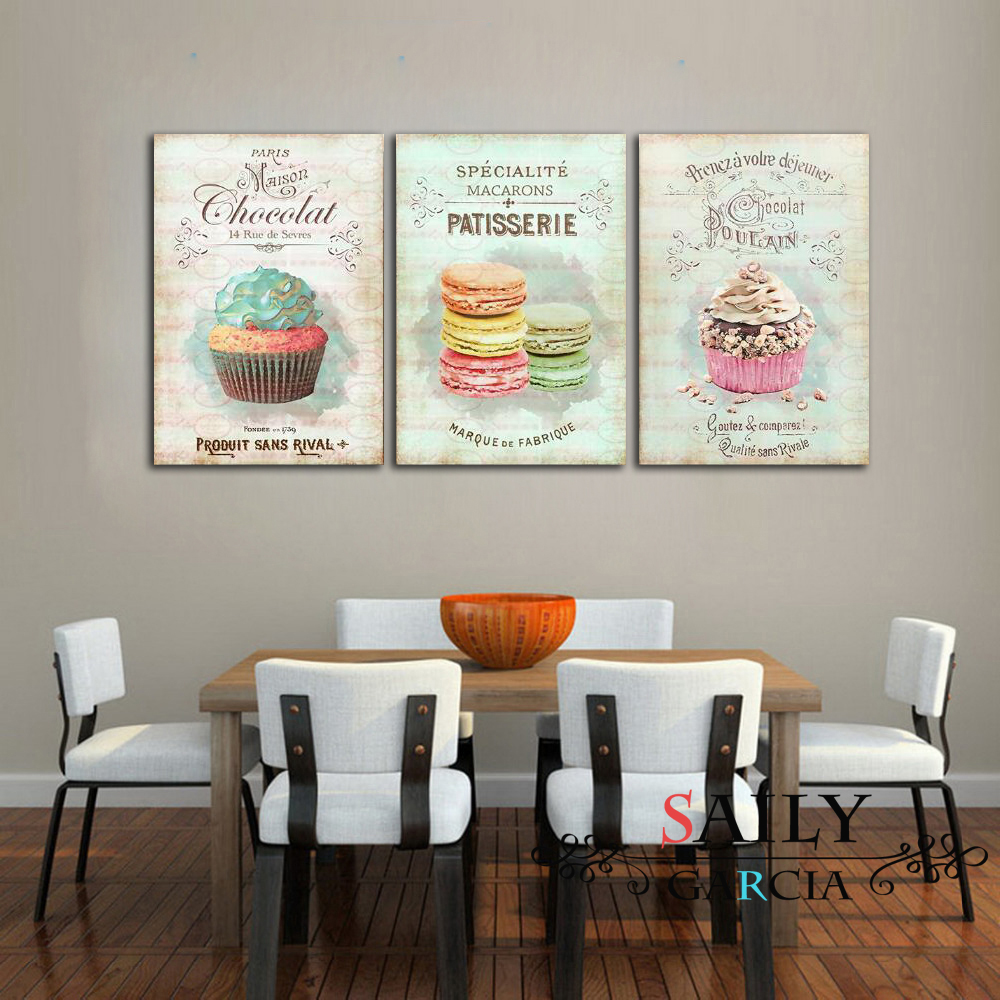 HTB11GCteR1D3KVjSZFyq6zuFpXav Nordic Decoration Home Posters Kitchen Restaurant Dessert Bread Canvas Painting Wall Art Picture For Living Room Decor No Framed