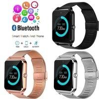 Z60 gt09 Smart Watch Men With Bluetooth Phone electronic smart Call 2G GSM SIM TF Card Camera Smartwatch PK U8 DZ09 GT08