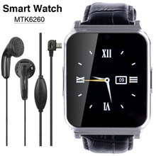 NEW MTK6260 Wearable Devices Bluetooth Smart Watch W90 Men Luxury Leather Smartwatch Full View HD Screen
