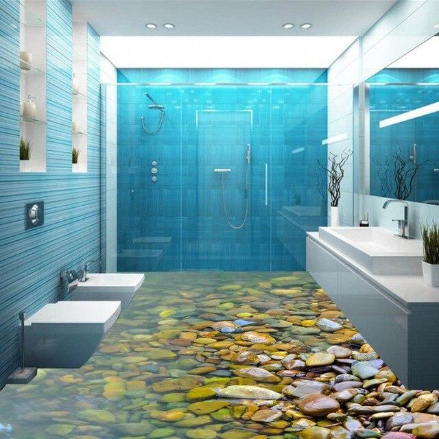 freies verschiffen 3d wallpaper hotel k che dekoration kopfsteinpflaster malerei boden. Black Bedroom Furniture Sets. Home Design Ideas