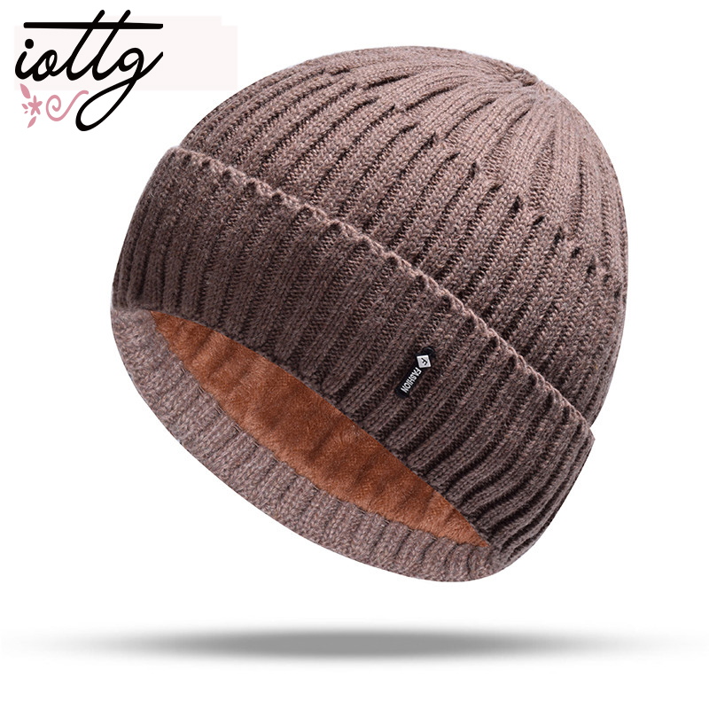 IOTTG Winter Hats   Skullies     Beanies   Hat Winter   Beanies   For Men Women Wool Hat Balaclava Mask Gorras Bonnet Knitted Hats