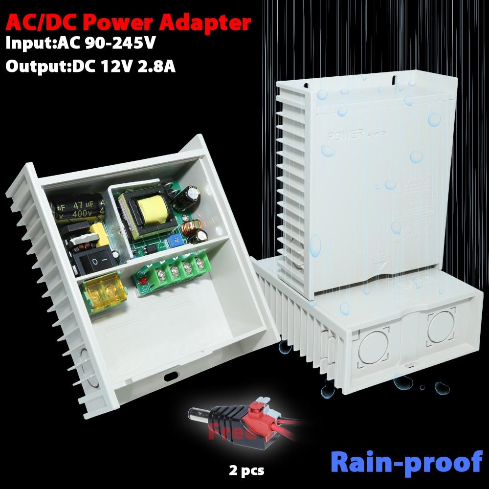 AC/DC power adapter DC12V 2.8A output мультиметр uyigao ac dc ua18