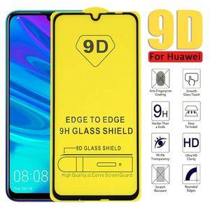 Image 1 - 5D/9D For Huawei Psmart 2019 nova 2 lite الزجاج المقسى لهواوي الشرف 10i 6X 7A 7C واقي للشاشة غطاء كامل زجاج عليه طبقة غشاء رقيقة