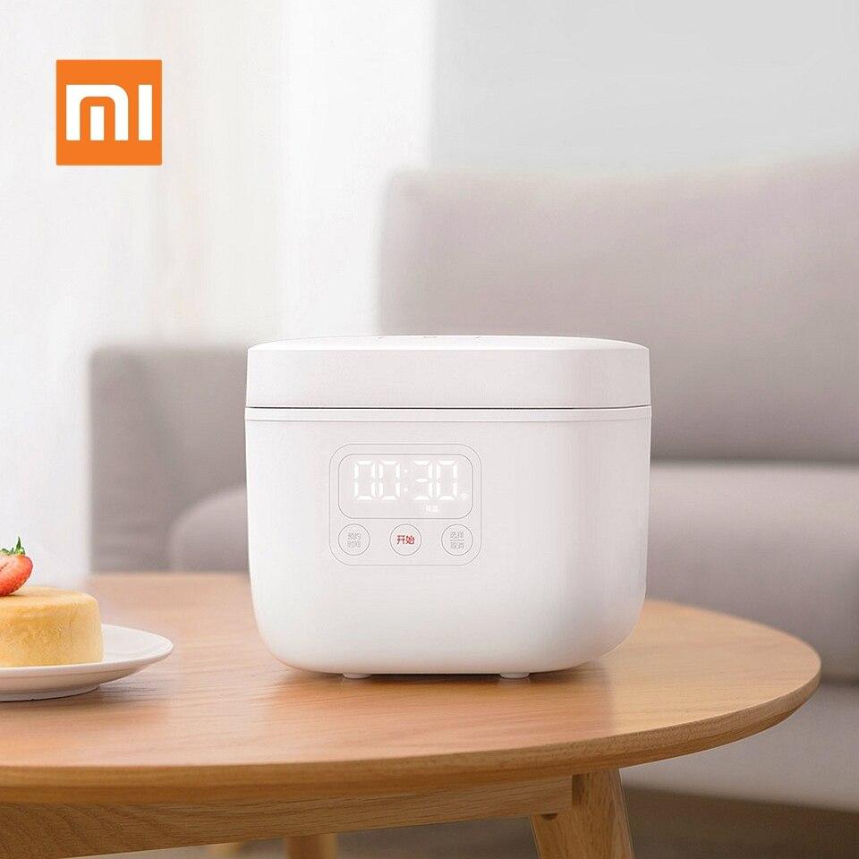EN STOCK Xiaomi Mijia Électrique Cuiseur À Riz 1.6L Cuisine Mini Cuisinière Petit Riz Cuire Machine Intelligente Nomination LED Affichage