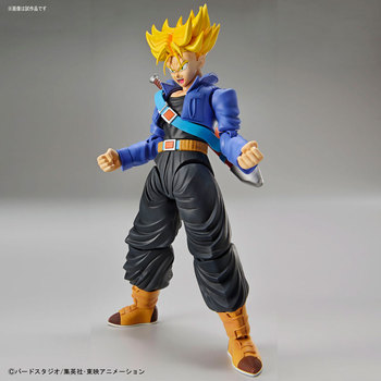 "Original BANDAI Tamashii Nations Figure-rise Standard Assembly Figure – Super Saiyan Trunks Plastic Model from ""Dragon Ball Z"""