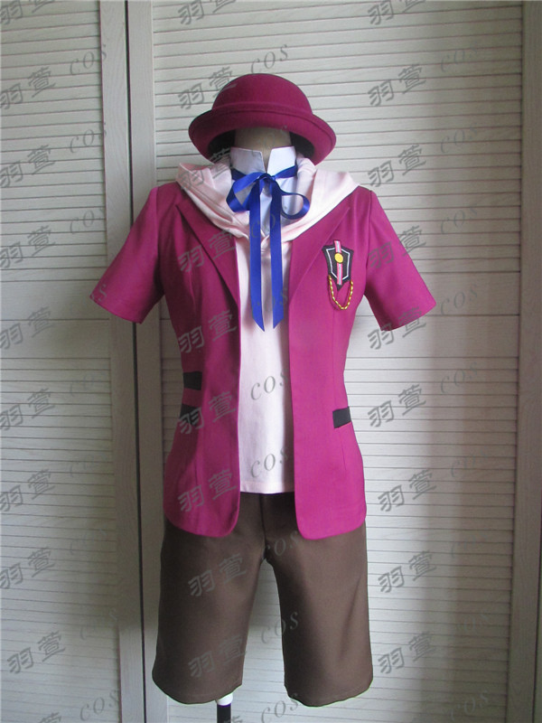 Nouveau brillant All Star Cos Uta no Prince-sama: Maji Love 1000% troisième quart Cosplay True Love vêtements (Top + manteau + short + chapeau + gants)