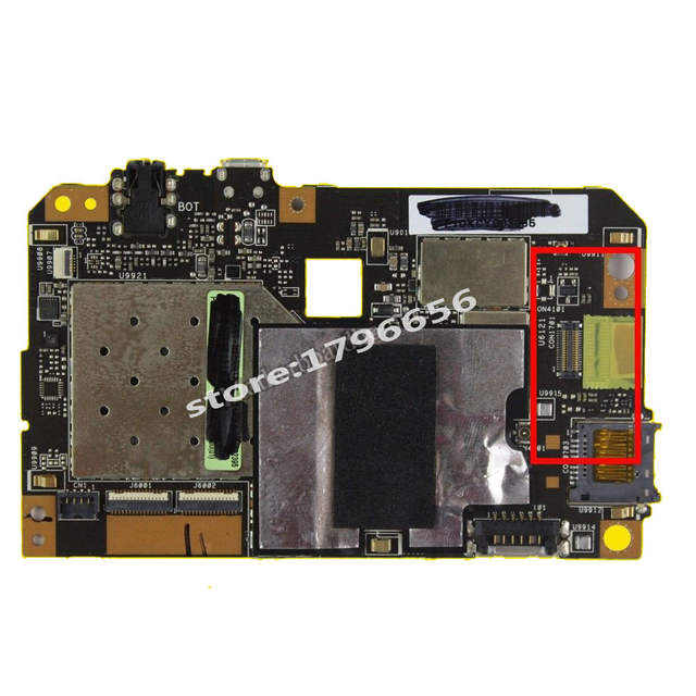 motherboard For ASUS Smart ME173X ME173 ME17 16GB Mainboard REV 1 3 With  ME173X 16G Memory Logic board test 100% ok