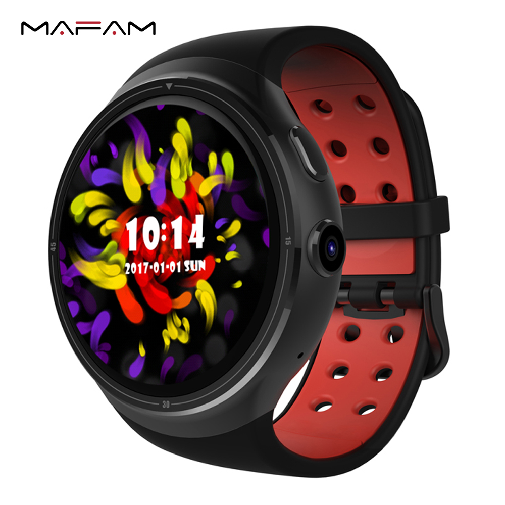 MAFAM Z10 3G Smartwatch Bluetooth Smart Watch Waterproof 1GB 16GB MTK6580 Quad Core Smartwatch WIFI GPS SIM For Android iOS цена