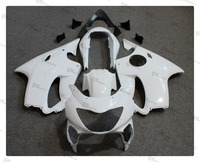 Motorcycle Unpainted White Fairing Cowl Body Work Kit For Honda CBR600F CBR 600 F 1999 2000