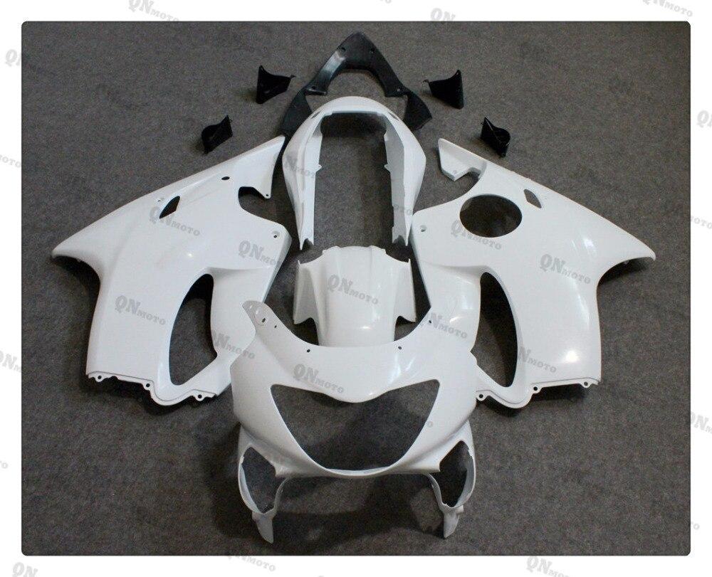 Motorcycle Unpainted White Fairing Cowl Body work Kit For Honda CBR600F CBR 600 F 1999-2000 + 4 Gift