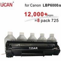 12000 stron kaseta 725 dla Canon LBP 6000 6000B LBP6000 LBP6020 6020B 6018 6030 6040 MF3010 drukarki w Kasety z tonerem od Komputer i biuro na