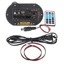12 V/24 V De Voiture Bluetooth HiFi Basse Puissance AMP Stéréo Numérique Amplificateur USB TF À Distance Pour La Maison De Voiture accessoires